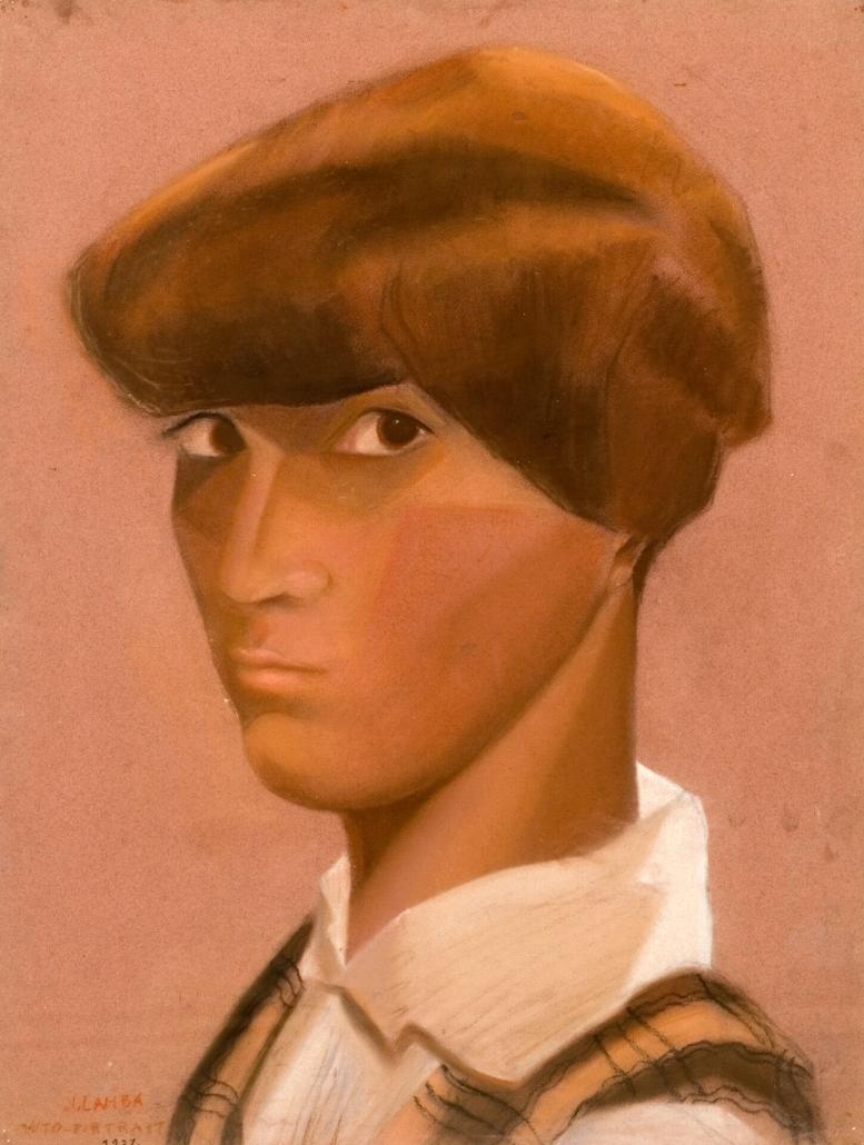 Autoportrait de Jacqueline, vers 1926
