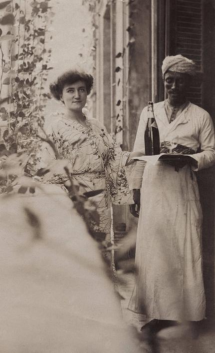 Jane Pinon à El-Katta en 1910