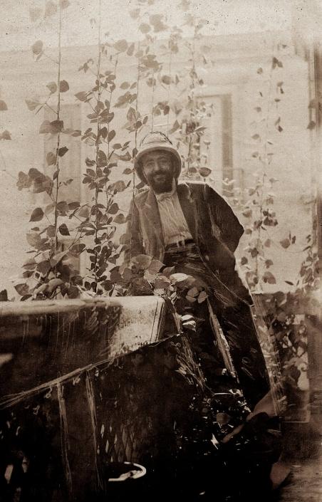 José Lamba à El-Katta en 1912