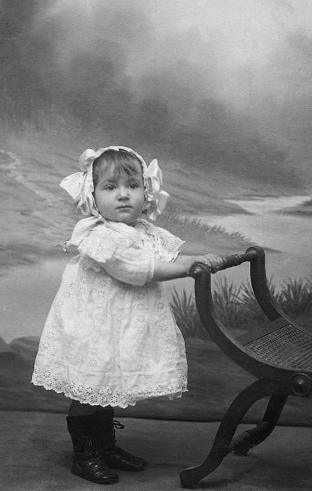 Jacqueline en 1913