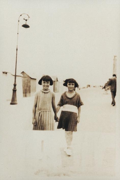 Huguette et Jacqueline à Royan