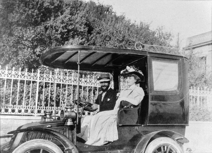 José et Jane Lamba en 1907 au Caire