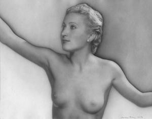acqueline en 1934 par Man Ray