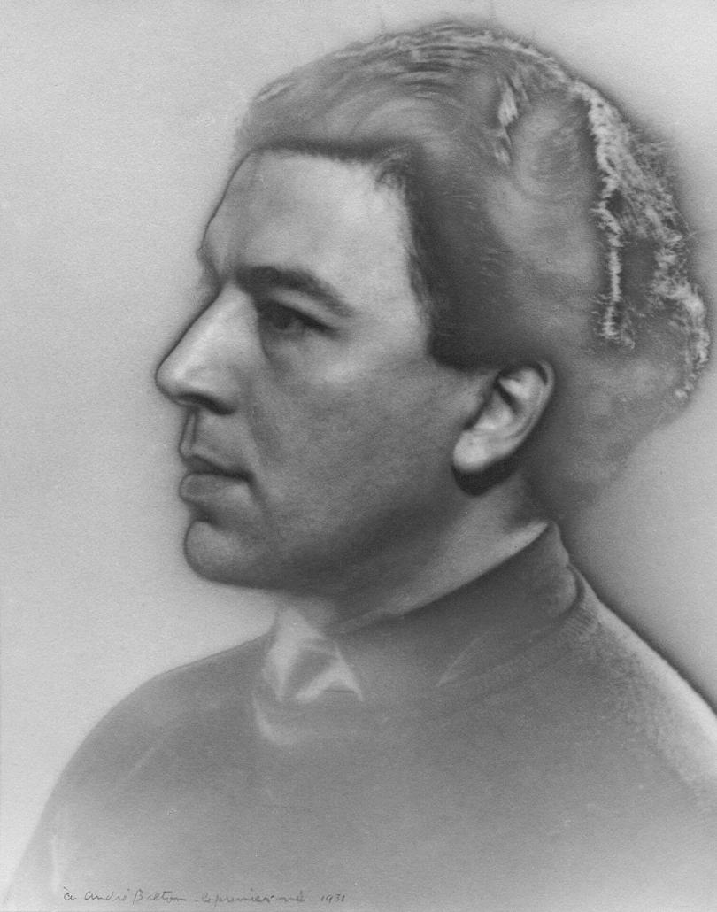 André Breton en 1931 par Man Ray