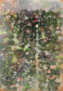 Source, 1968. Gouache huile et encre de Chine, 84,5 x 59,5 cm.