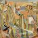 Rivière, 1948. Huile sur toile, 105 x 126 cm