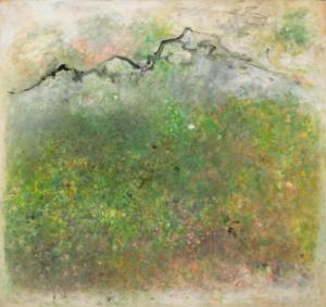 Simiane, 1964. Huile sur toile marouflée sur toile, 109 x 116 cm