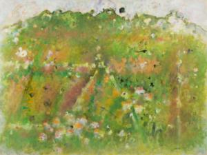 Simiane, 1965. Huile sur toile, 75 x 100 cm