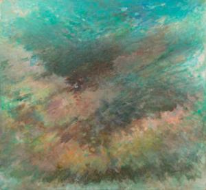 Sans titre, 1960. Huile sur toile, 125 x 135 cm