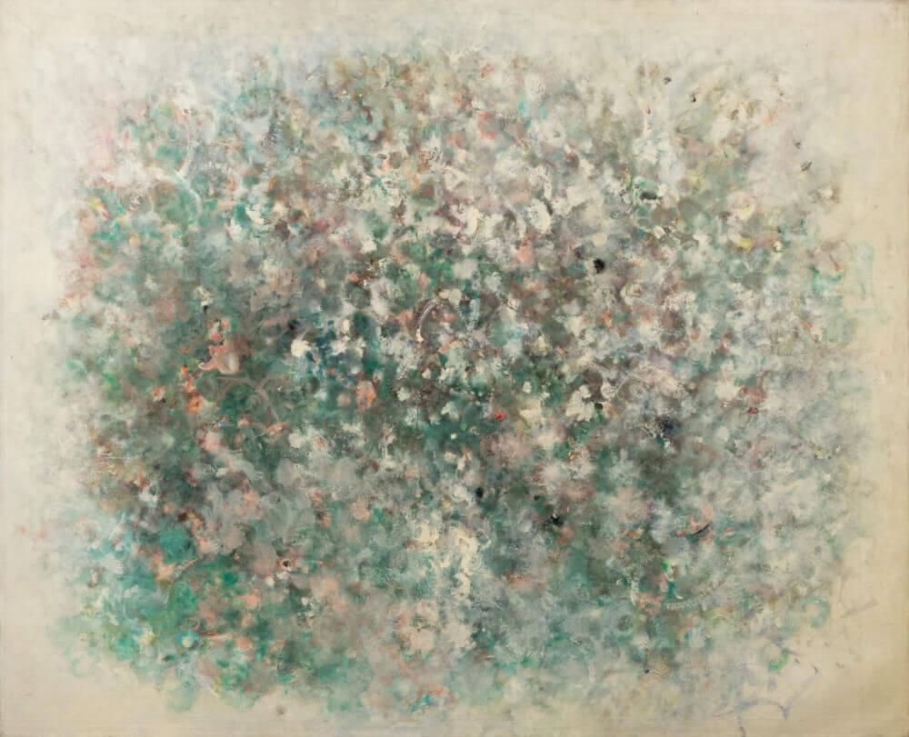 Source, 1967. Huile sur kraft marouflée sur toile, 125,5 x 154 cm