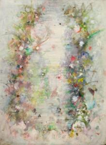 Sans titre (Source écrin), 1968. Huile sur toile, 73 x 54 cm.