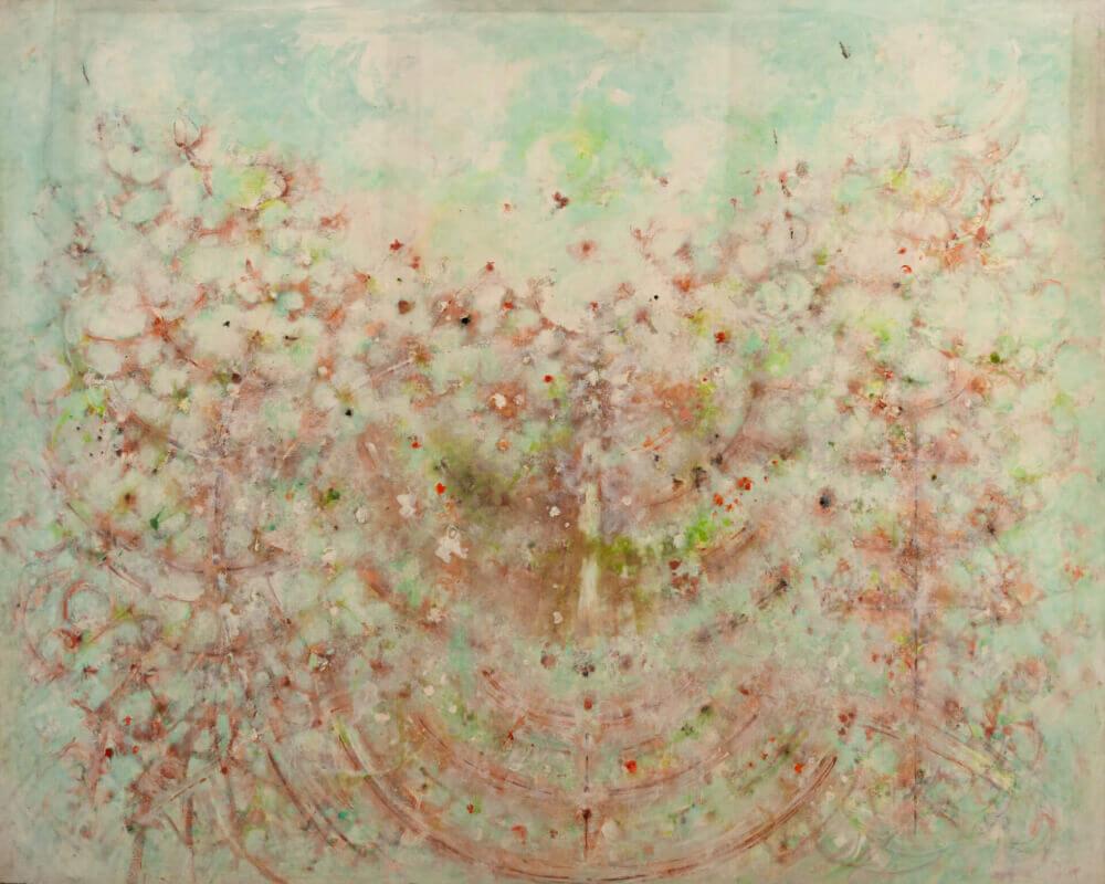 Sans titre (Source), 1980. Huile sur toile, 190 x 233 cm