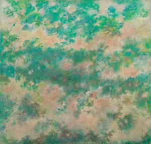 Accueil - Jacqueline Lamba - Sans titre - Nuages blanc sur fond turquoise