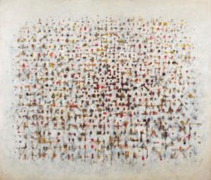 Accueil - Jacqueline Lamba - sans-titre-ville-de-jour-pointilliste-1980