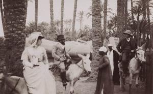 José et Jane Lamba. Vers 1911